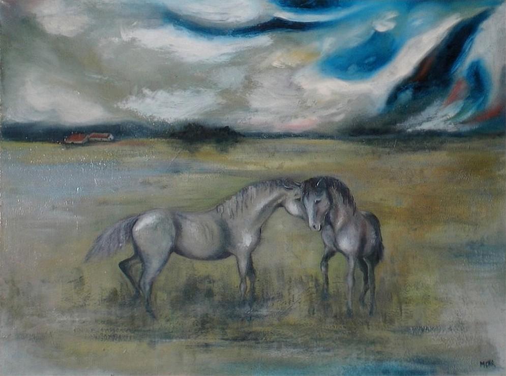 Chevaux dans l orage, Marie Hurtrel