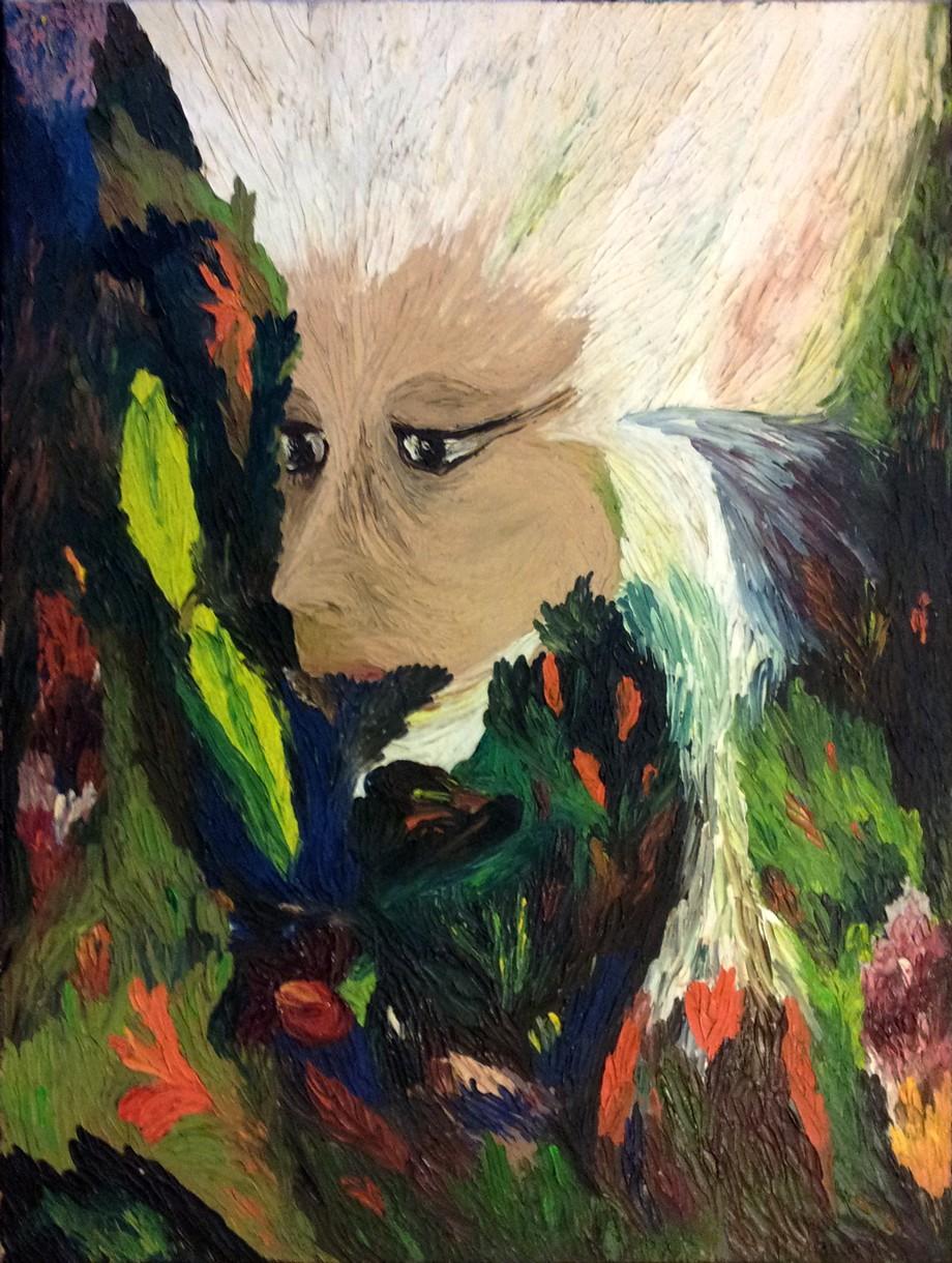 Peinture d'attente, Marie Hurtrel