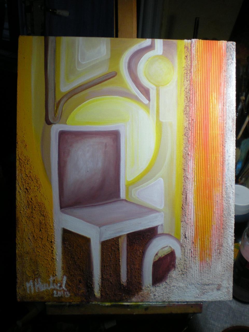 Sans fondement - acrylique 2010 - Atelier