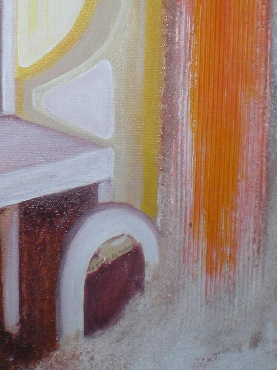 Sans fondement - acrylique 2010 - détail